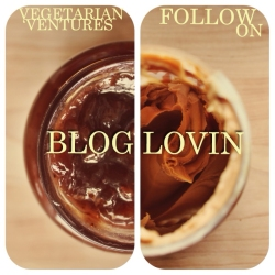 Follow Vegetarian Ventures on Bloglovin'
